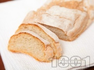 Пшенични питки със суха мая в домашна хлебопекарна (машина за хляб)